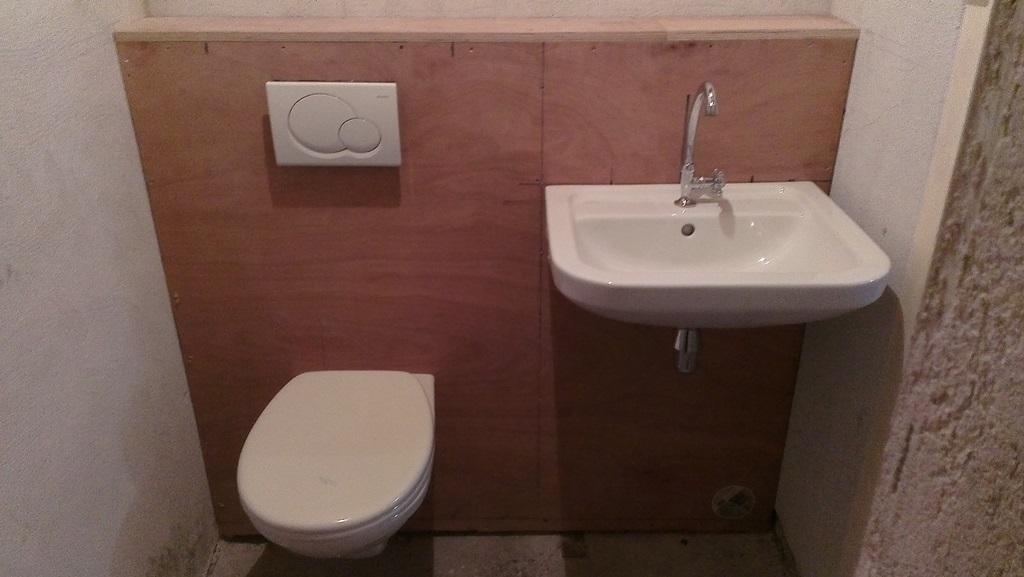 Verbouwing toiletten