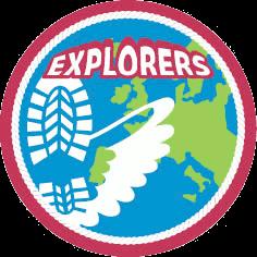Speltaklogo explorers