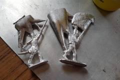 18-02-'17 Tinnen soldaatjes maken