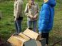 22-03-'14 Nestkastjes ophangen en levend stratego